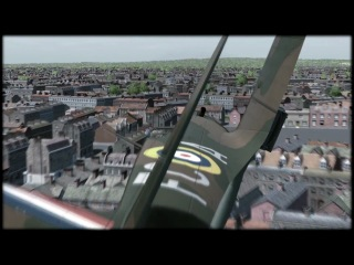 Spitfire fun in London; IL-2 Cliffs of Dover