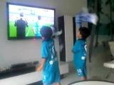 Два сына близнеца португальского игрока Зенита - Мигеля Данни